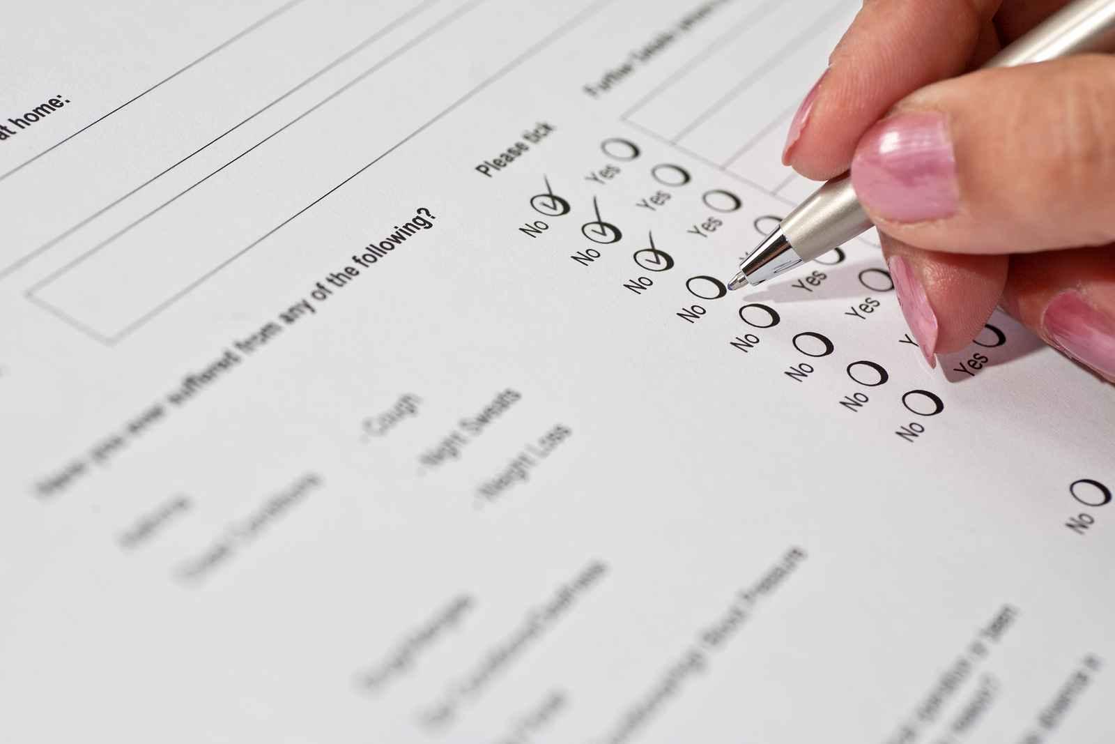 copy questionnaire